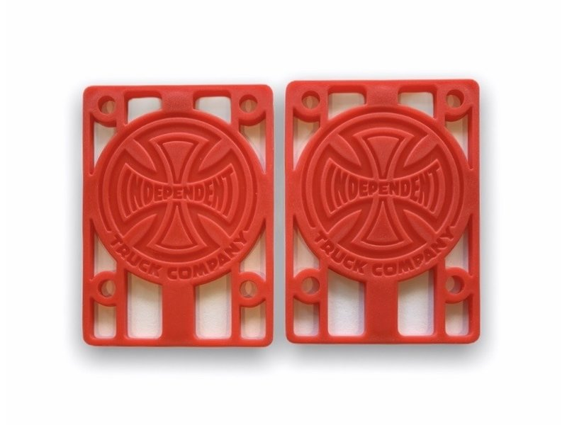 Independent Independent Risers Red 1/8