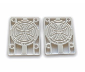 Independent Risers White 1/8