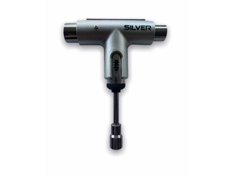 Silver Silver Ratchet Black/Silver Skate Tool