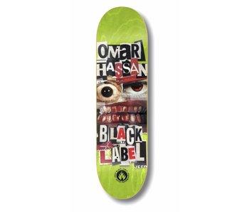 Black Label Omar Hassan Nip Tuck 8.38 Deck