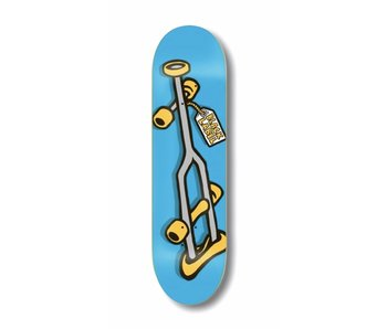 Black Label OG Crutch Blue 8.5 Deck