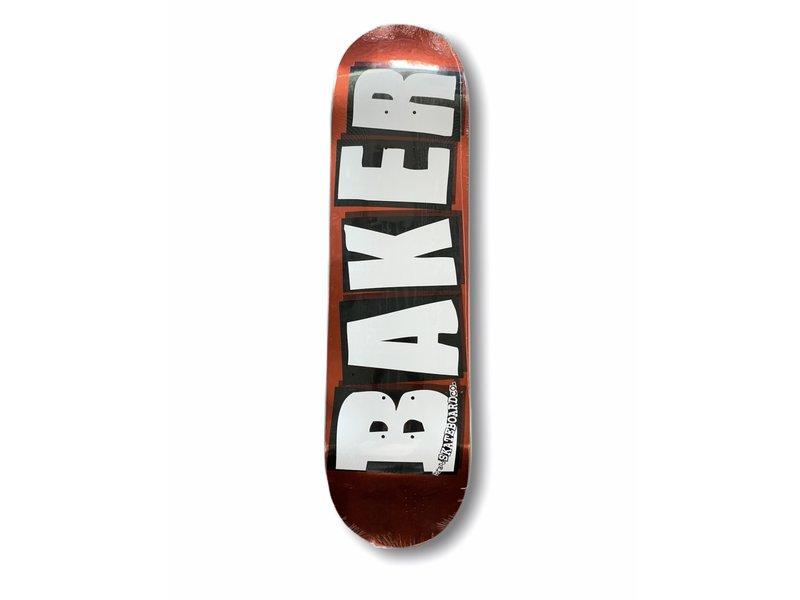Baker Baker Brand Logo Red Foil 8.25 Deck