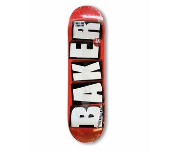Baker Brand Logo White 8.25 Deck