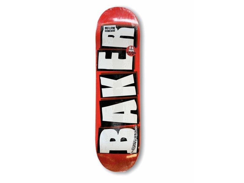 Baker Baker Brand Logo White 8.25 Deck