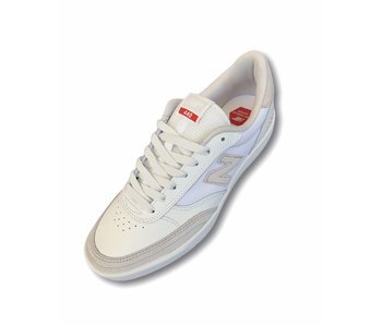 New Balance Numeric 440 White/Red Leather Shoes