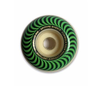 Spitfire F4 Classic Swirl Green 101A 52MM Wheels
