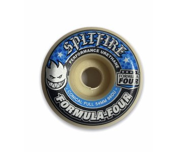 Spitfire F4 Conical Full 99A 54MM Wheels