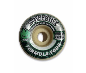 Spitfire F4 101A Conical Green 53MM Wheels