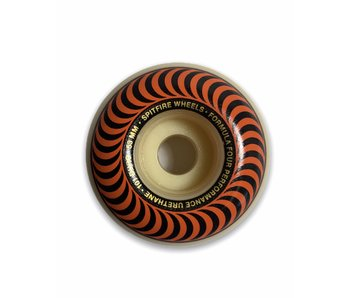 Spitfire F4 Classic Swirl Orange 101A 53MM Wheels