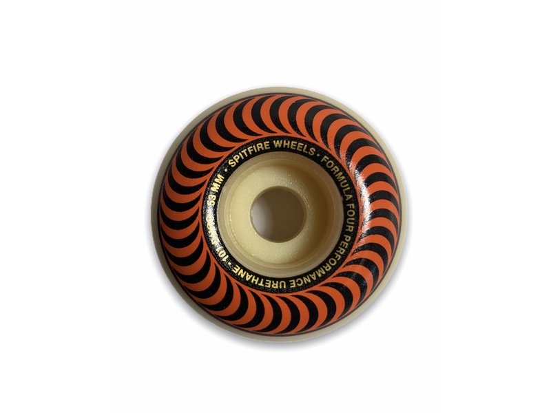 Spitfire Spitfire F4 Classic Swirl Orange 101A 53MM Wheels
