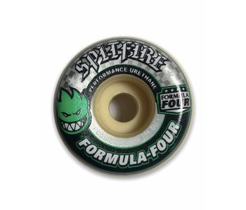 Spitfire F4 101A Conical Green 54MM Wheels