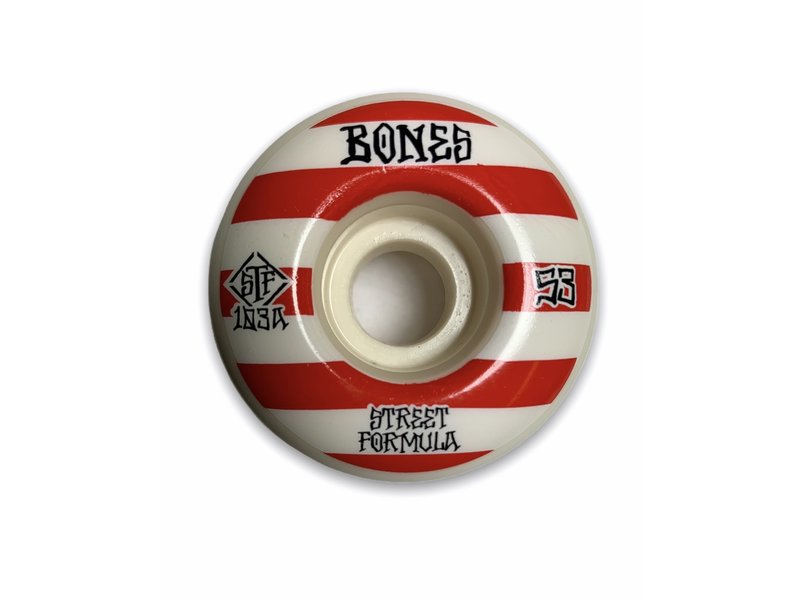 Bones Bones Patterns V4 Wide STF 103A 53MM Wheels