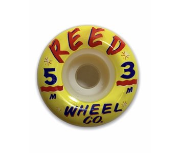 Reed Wheels Hand Lettered 101A 53MM Wheels