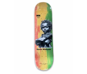 DGK x Heartman Stevie Williams 7.8 Deck