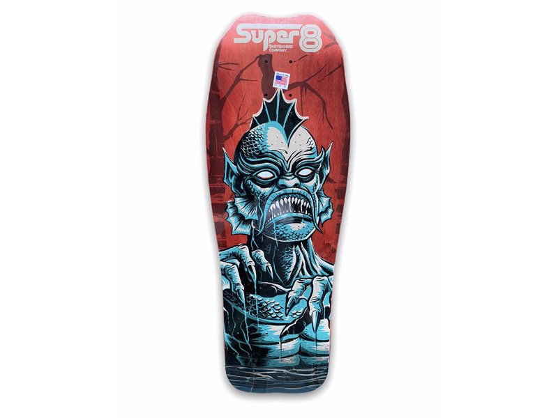 Super 8 Super 8 Gillman Devilfish Shaped 10.0 Deck