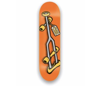 Black Label OG Crutch Orange 8.25 Deck