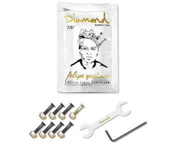 "Diamond Gold Felipe Gustavo Pro 7/8"" Hardware"