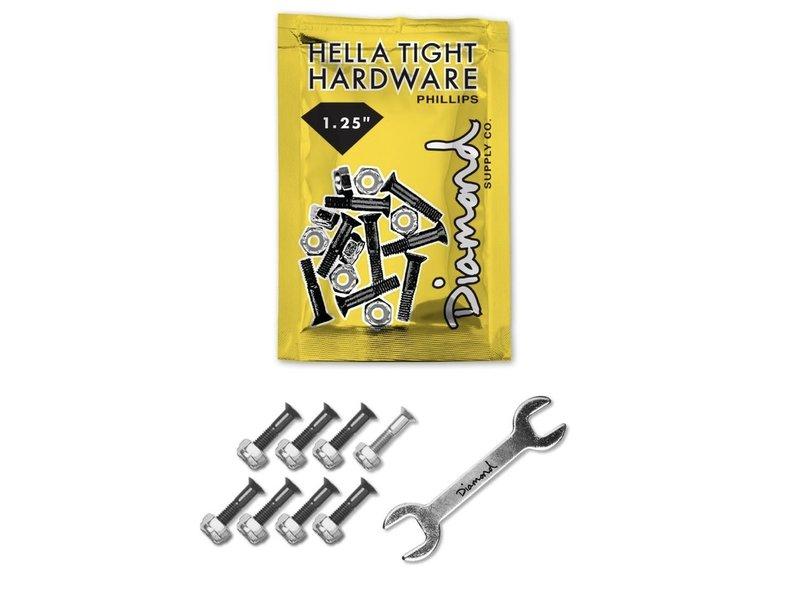 "Diamond Diamond Sliver Hella Tight 1.25"" Phillips Hardware"