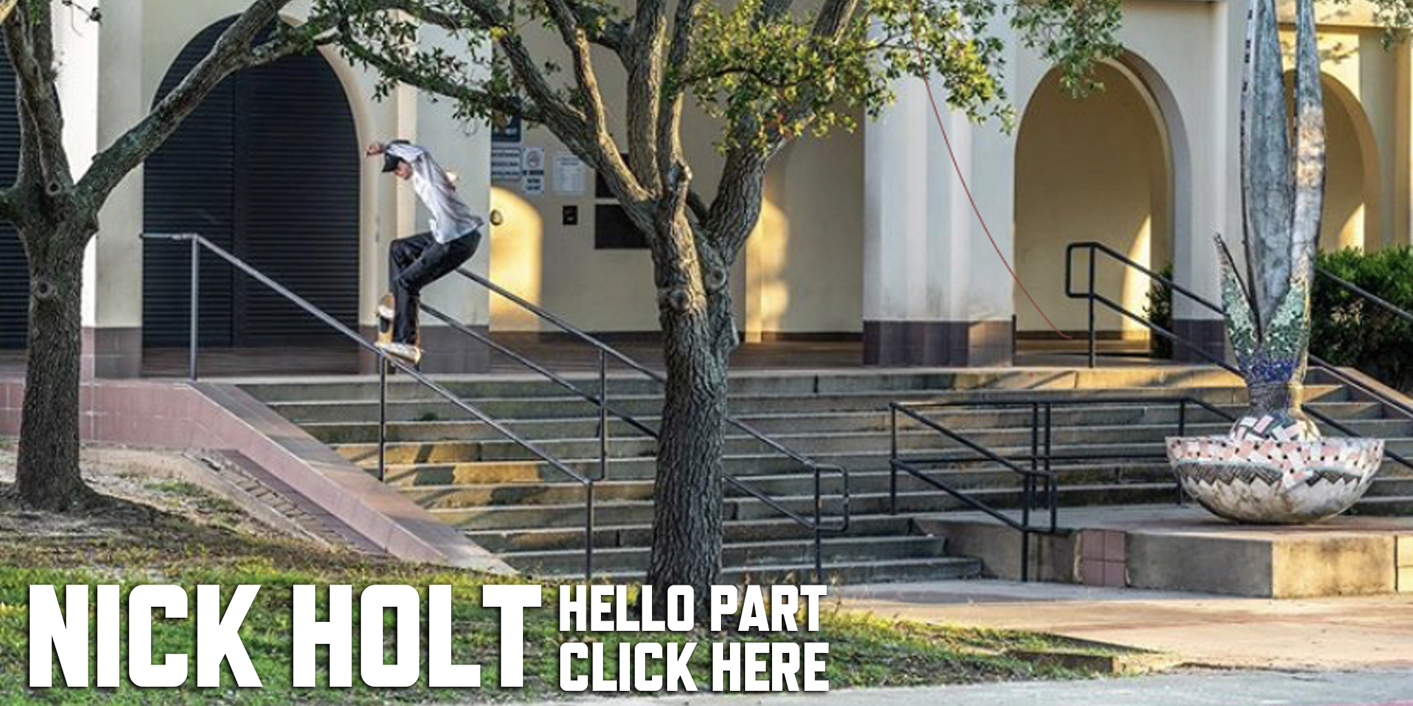 NICK HOLT HELLO PART