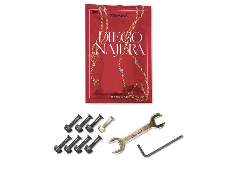 Diamond Diamond Diego Najera Gold Pro 1 Inch Hardware