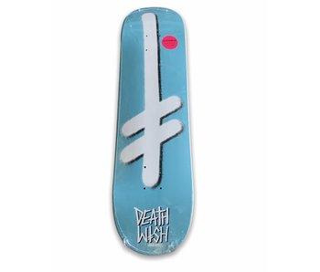 Deathwish Gang Logo Ice Blue 8.25 Deck