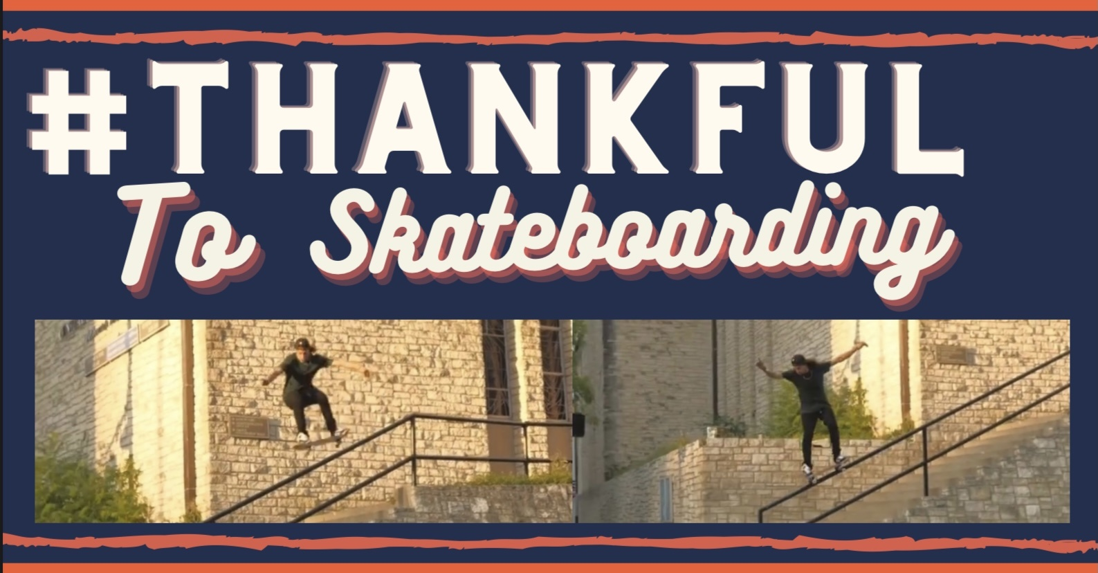 Wolf Pat Film's: Thankful to Skateboarding