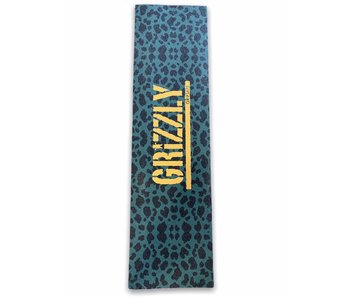 Grizzly Green Cheetah Stamp Grip