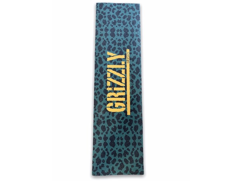 Grizzly Grizzly Green Cheetah Stamp Grip