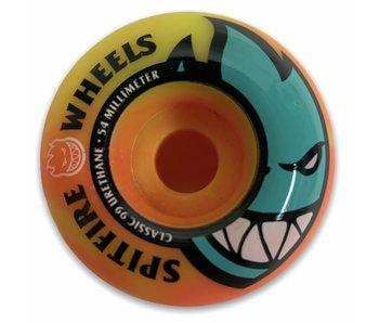 Spitfire Bighead Neon Orange/Yellow 99A 54MM Wheels