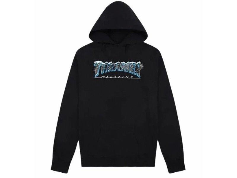 Thrasher Thrasher Black Ice Hooded Sweatshirt
