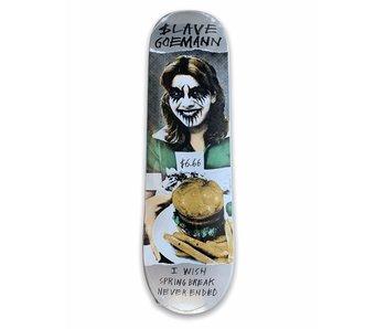 Slave Goemann Black Metal 8.375 Deck
