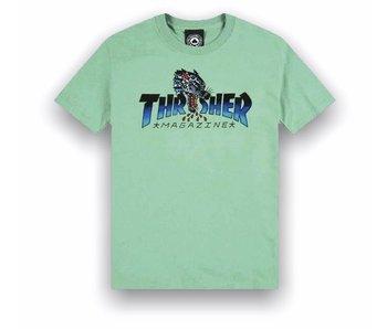Thrasher Leopard Mag SS Tee