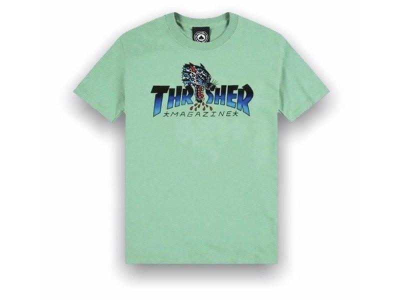 Thrasher Thrasher Leopard Mag SS Tee