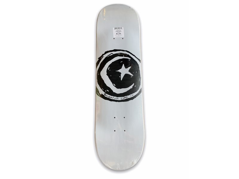 Foundation Foundation White Star & Moon 8.25 Deck