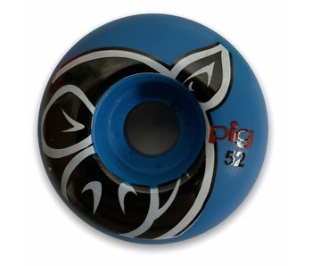 Pig Head Blue Proline 52MM Wheels