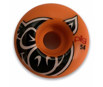 Pig Head Orange Proline 54MM Wheels