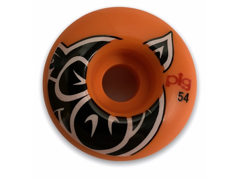 Pig Pig Head Orange Proline 54MM Wheels