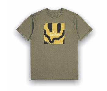Brixton Melter Square Olive SS Tee