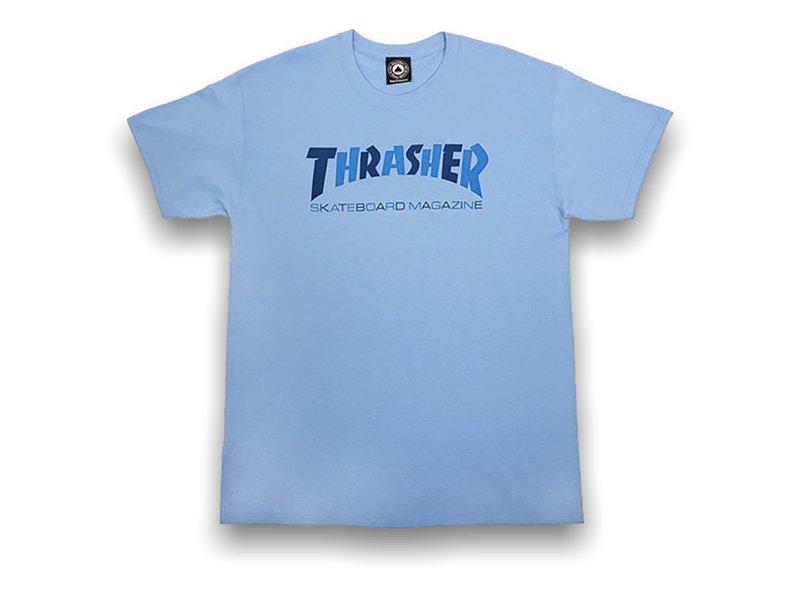 Thrasher Thrasher Checkers Carolina Blue SS Tee