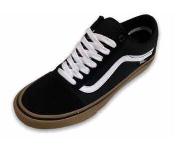 Vans Old Skool Pro Black/White/Gum Shoes