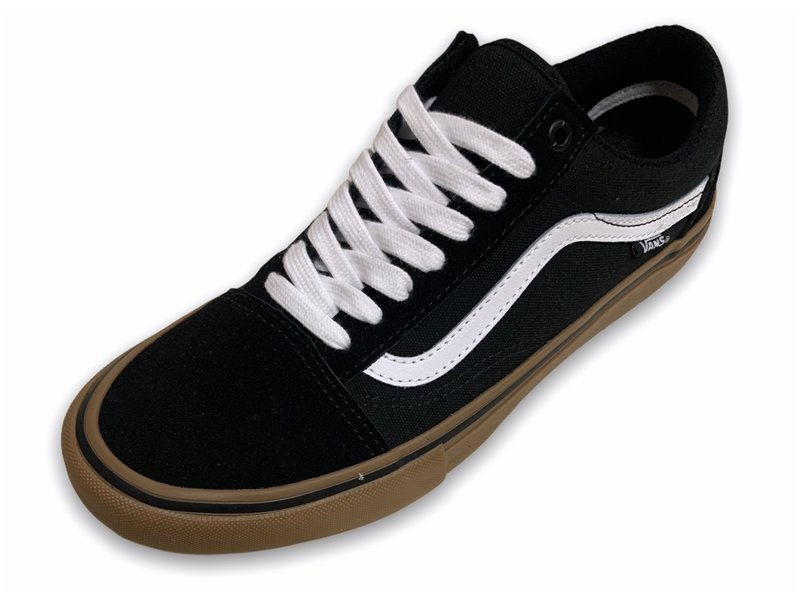 Vans Vans Old Skool Pro Black/White/Gum Shoes