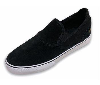 Emerica Youth Wino Slip-On Black/ White Shoe