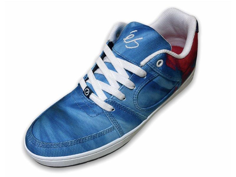 Es Footwear Es Accel Slim Tie Dye Shoes