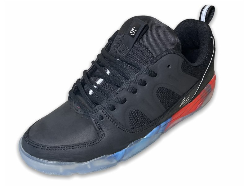 Es Footwear Es Silo Black/Print  Shoes