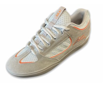 Lakai Carroll Grey/Orange Suede Shoes
