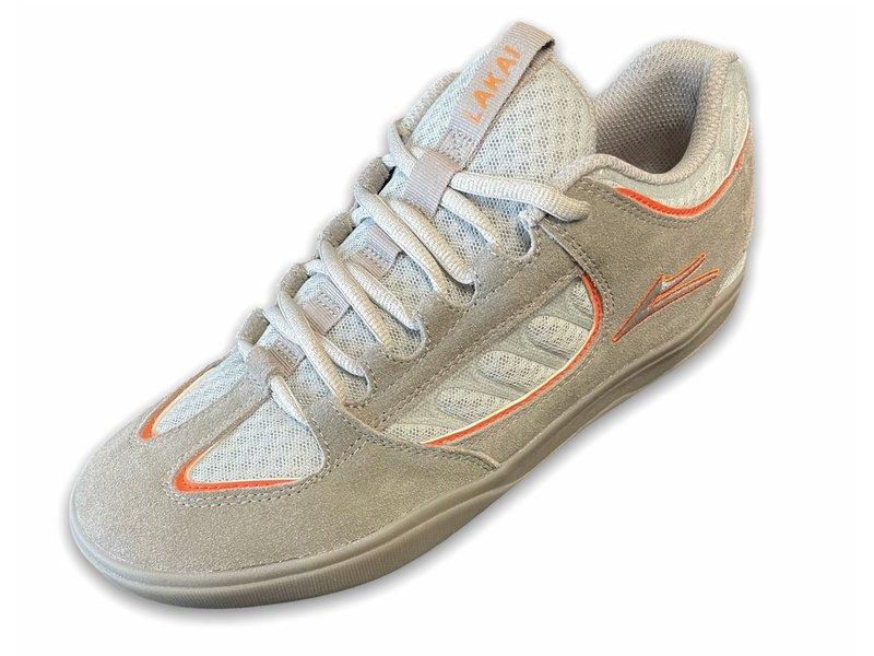 Lakai Lakai Carroll Grey/Orange Suede Shoes