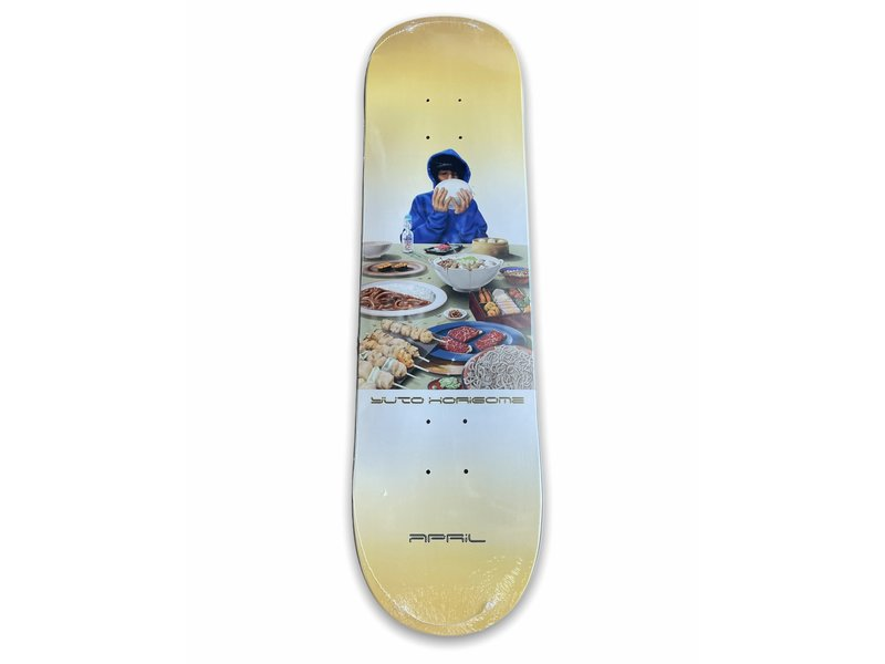April Skateboards April Yuto Banquet 8.0 Deck