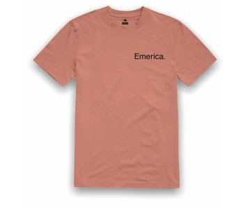 Emerica Pure Logo Orange SS Tee