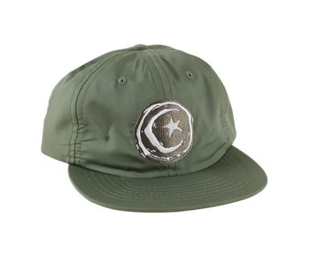 Foundation Star And Moon Green Unstructured Hat