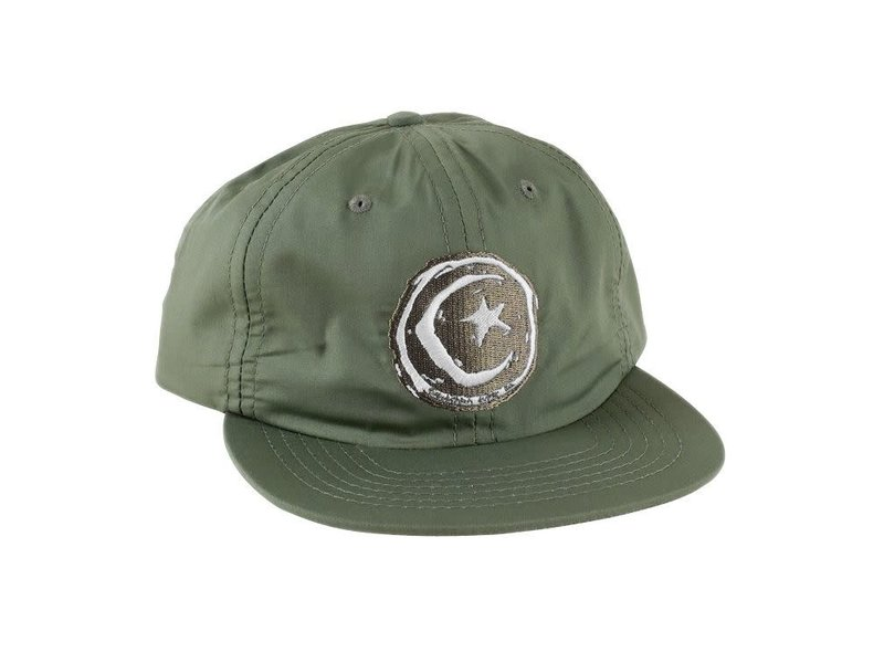 Foundation Foundation Star And Moon Green Unstructured Hat